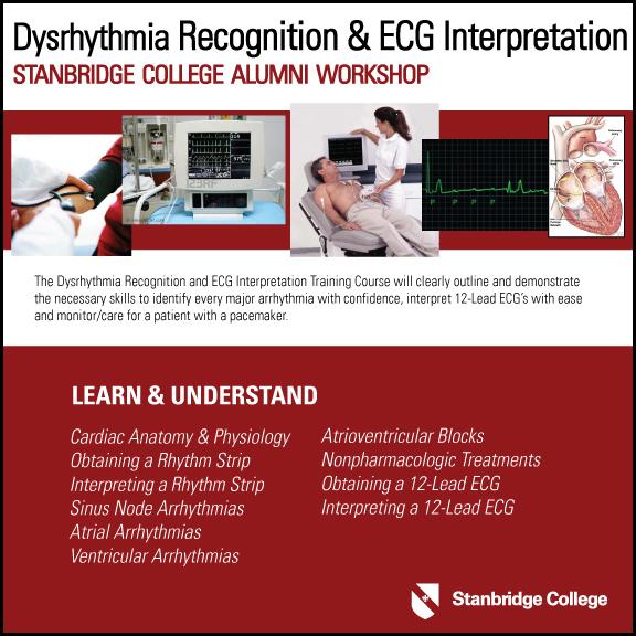 Dysrhythmia Recognition & ECG Interpretation Alumni