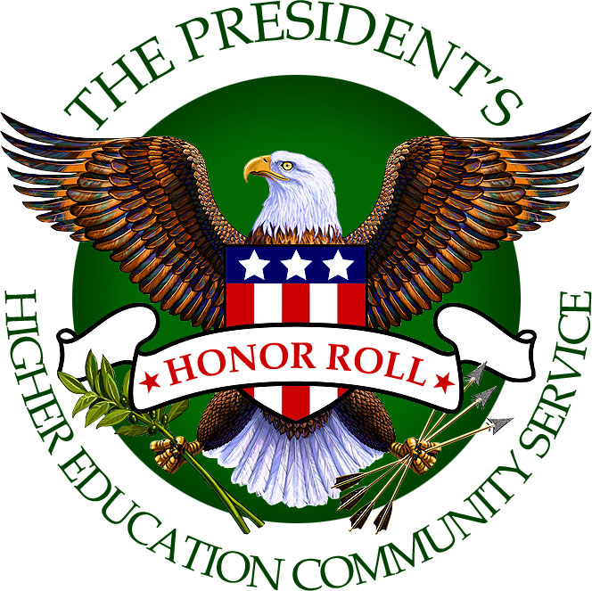 Fourth Year of Presidential Recognition for Community Service Excellence