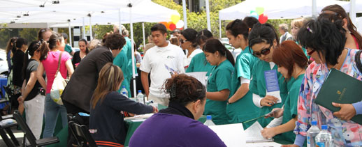 Stanbridge College hosts Allied Health and Vocational Nursing Career Fair