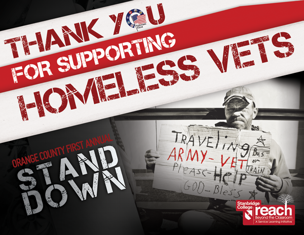 Standing Up for Homeless Veterans at the OC Stand Down