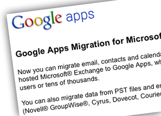 Migration from Exchange to Google Apps Frustrating, Satisfying