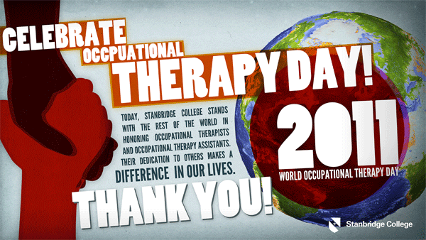 Stanbridge College Celebrates World Occupational Therapy Day for OTA Program