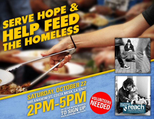 Cold Hands, Warm Hearts: Volunteers Needed to Serve the Homeless in October