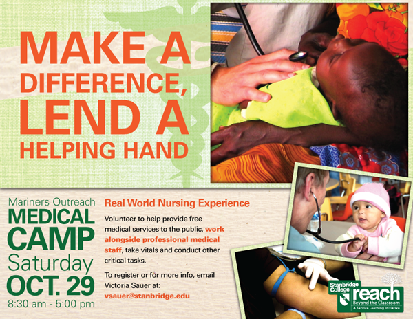 Nursing and Non-Medical Volunteers Needed at the Orange County Free Medical Clinic