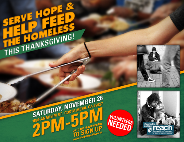 Step Up and Show the Spirit of Giving to Hundreds of OC Homeless
