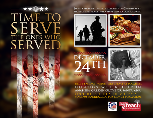 Christmas Cooks Needed to Serve Homemade Meals for Homeless Veterans