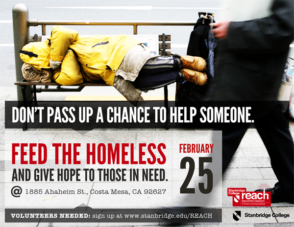 Give the Homeless Change They Can Use: Serving the Homeless at Lighthouse Ministries 2-25-12