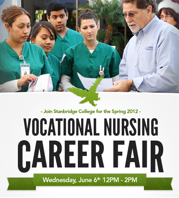 Stanbridge College Hosts Vocational Nursing Career Fair on June 6th!