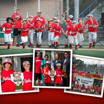 Stanbridge College Sponsors Little League Championship Winners