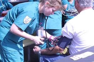 Stanbridge College Nursing Students Find Inspiration at Public Medical Camp