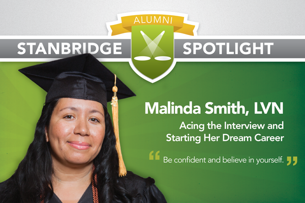 Stanbridge Spotlight: Malinda Smith - Acing the Interview and Starting Her Dream Career