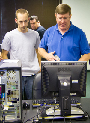 IT Students Prepare Christmas PCs for Needy Children in Costa Mesa