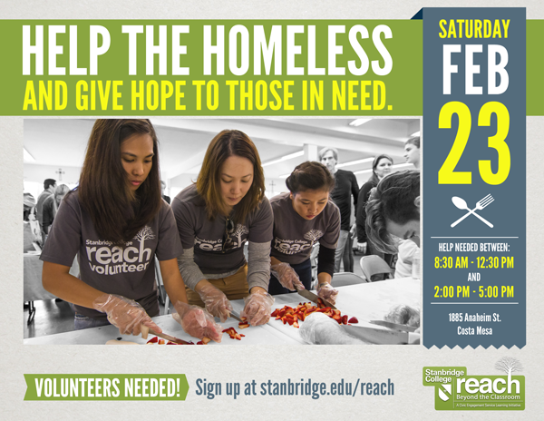 Show Your Love: Volunteers Needed to Help the Homeless in February