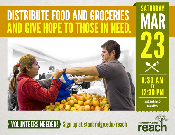 Free Pantry Organization Needs Your Help in March