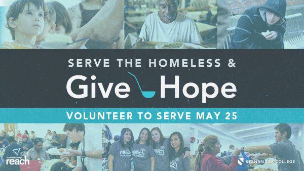 Giving is a Year Round Need: Help Feed the Homeless in May with Stanbridge College