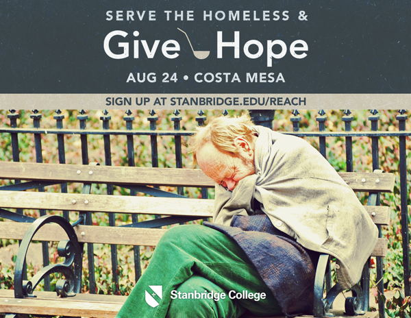 Volunteer 8/24 to Make a Difference for the Homeless and Hungry