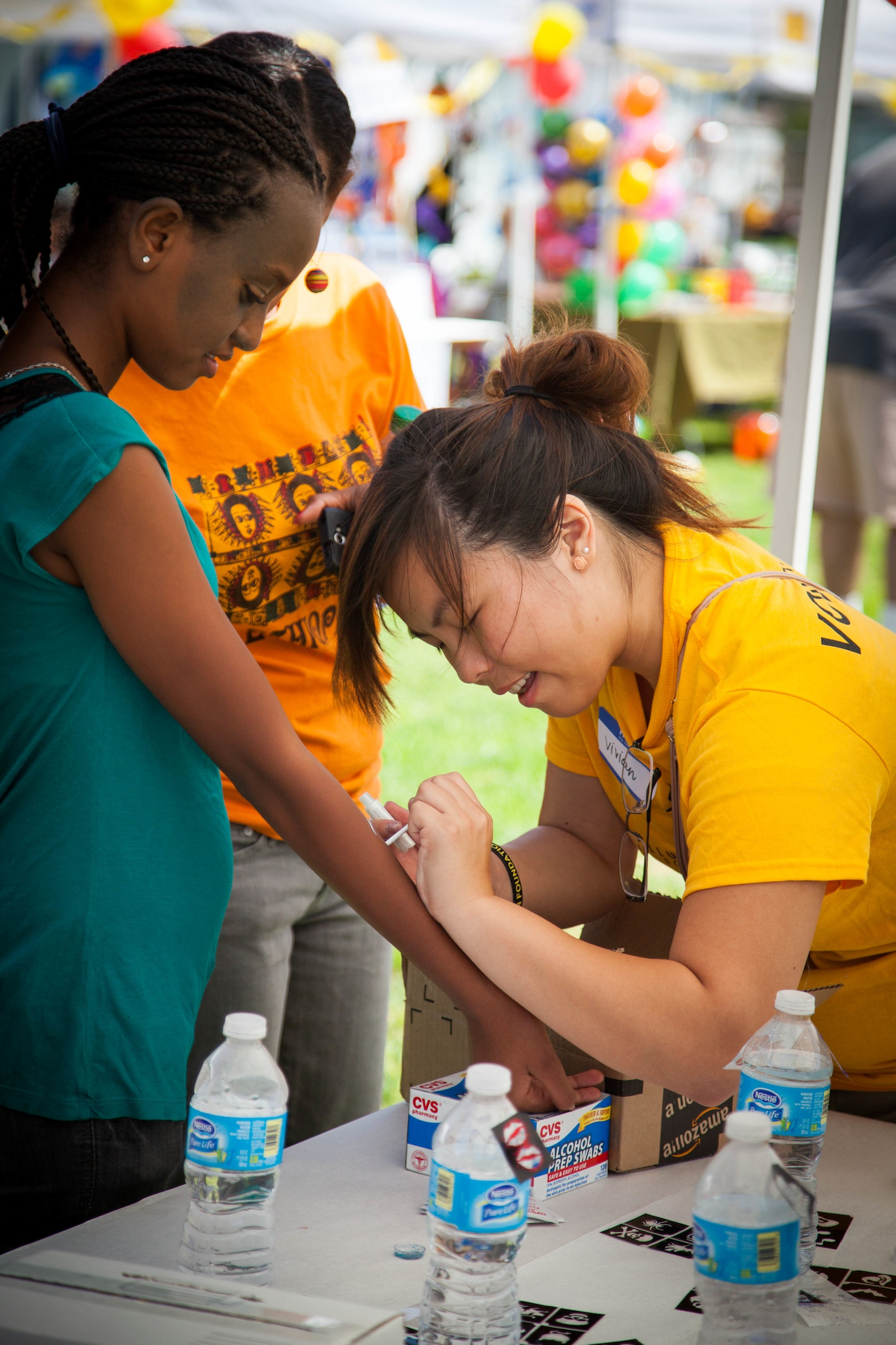 Stanbridge Students Help OC Homeless Kids Celebrate Back to School