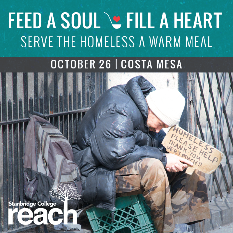 Feed a Soul and Fill a Heart: Volunteer 10/26 to Help the Homeless