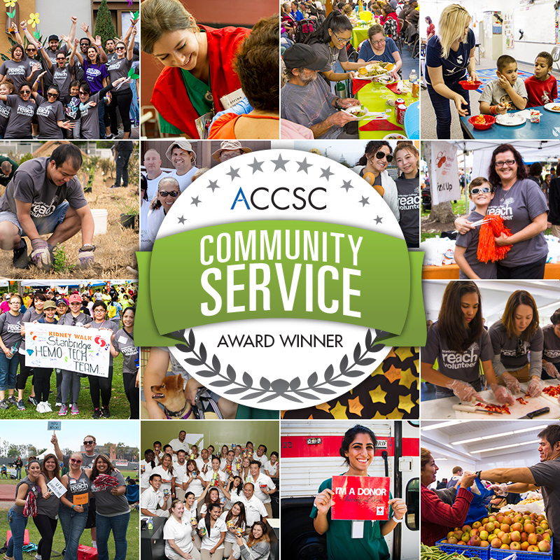 Stanbridge College Receives 2013 ACCSC Community Service Award