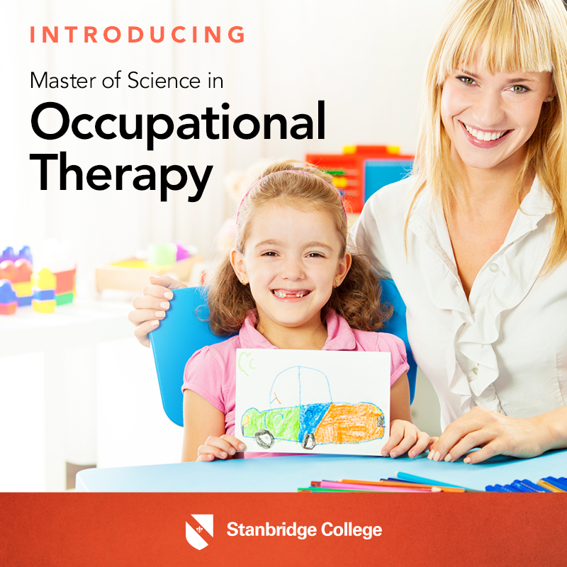 Stanbridge College Launches Orange County's First Master's Degree in Occupational Therapy