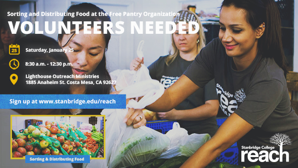 Volunteer and Give Groceries to Orange County's Homeless
