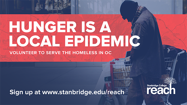 Volunteer to Help Feed Orange County's Homeless with Stanbridge College REACH