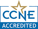 Accredited by CCNE - Click for details