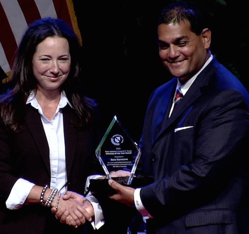 Alumni Spotlight: 2015 Rear Admiral Howard A. Roop Alumnus of the Year Award Winner Jane Germaine