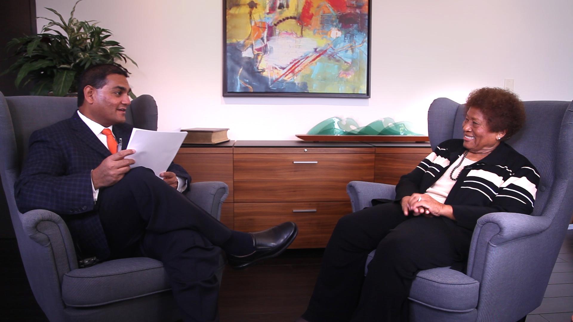 Passionate Perseverance: Dr. Joycelyn Elders Sits Down with Stanbridge President Yasith Weerasuriya