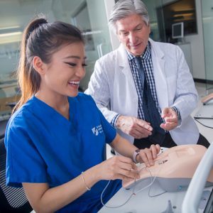 Nursing School Training: Real-World Practice with Haptic IV Trainers