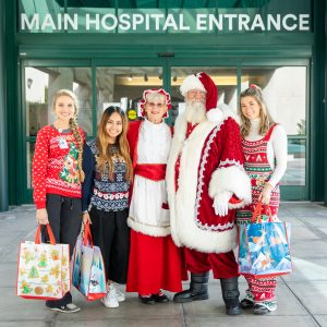 Gifts That Give Back – Stanbridge University Delivers Holiday Cheer to Local Children's Hospitals