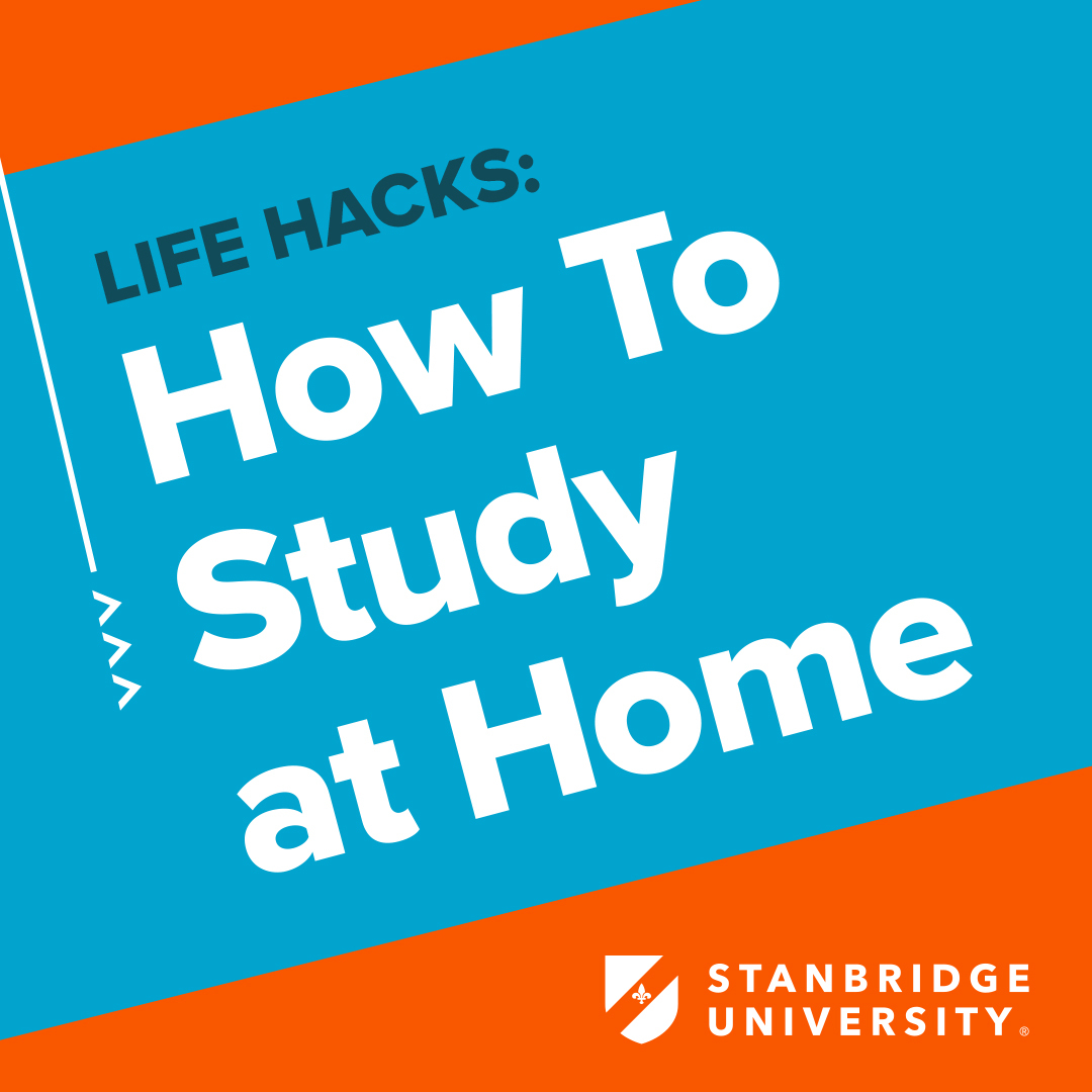 Work From Home Tips: How To Study at Home