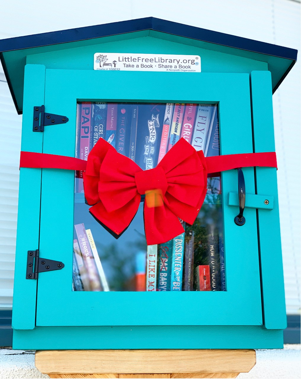 Little Free Library Grand Opening Celebrates Literacy